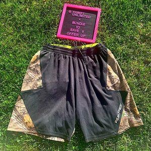 Men's Realtree 🦌 camo hunting shorts